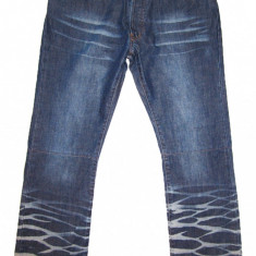 Blugi barbati - = MARIME MARE = Blugi ZARA - Design Modern ( Marime: 36 ) - TALIE = 94 cm / LUNGIME = 109 cm