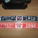 Esarfa DINAMO BUCURESTI 65 ani , New Dinamo LEGENDA RENASTE + TRANSPORT GRATUIT