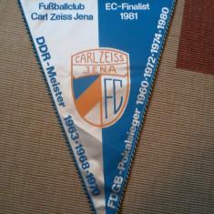 Fanion fotbal FC CARL ZEISS JENA DDR sport