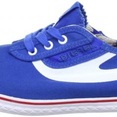 Tenisi originali DIESEL- adidasi barbati - panza - in cutia originala - 43 - Tenisi barbati Diesel, Culoare: Albastru, Textil