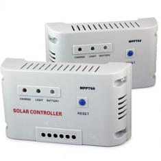 REGULATOR CONTROLLER SOLAR MPPT WELLSEE Controler pentru panouri solare fotovoltaice AUTODETECTIE 12/24 V sau 48V 40A