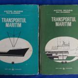 ANTON BEZIRIS / GH.BAMBOI - TRANSPORTUL MARITIM [ PROBLEME TEHNICE SI DE EXPLOATARE ] - VOL.1 + VOL.2 - BUCURESTI - 1988 - Carti Transporturi