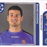 Cartonas de colectie - Abtibild Panini Grahovac Otelul Galati UEFA Champions League 2011-2012