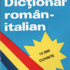 DICTIONAR ROMAN-ITALIAN de ALEXANDRU BALACI (15.000 CUVINTE) teora