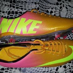 Ghete Fotbal Nike Mercurial 2013!, Marime: 44, Orange, Barbati