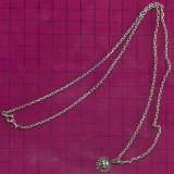 Lantisor de ARGINT-marcat 925-6.5 gr-lungime dublu=28 cm - Lantisor argint