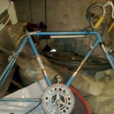 Pegas Torpedo - Bicicleta retro, 28 inch, Otel, Albastru