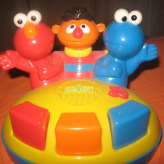 Instrumente muzicale copii - Orga muzicala Sesame Street, nou-nouta