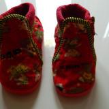 Papuci copii, Unisex - Papucei pantofiori botosei de casa/de interior pentru copii, marimea 24, marca Speedy, LICHIDARE DE STOC!