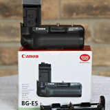 OFERTA SPECIALA - Grip NOU Canon BG-E5 pentru EOS 450D, 500D si 1000D - DSLR Canon