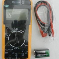 Multimetre - Aparat de Masura Digital 9205 Afisaj Electronic MULTIMETRU DT9205 - NOU
