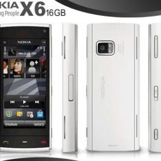 VAND NOKIA X6 WHITE 16 GB IMPECABIL - Telefon mobil Nokia X6
