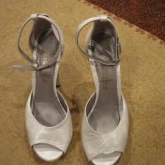 PANTOFI MIREASA - Pantofi dama, Marime: 39, Culoare: Alb, Alb