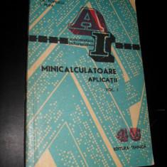 Minicalculatoare, Gh. Dodescu, D. Ionescu, Cr. Popescu - Carte Informatica