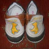 Papucei baietei, marime 6-12 luni - Botosi copii, Maro