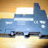 Releu Industrial Telemecanique RSB + RSZE - RELEU MINIATURA 24 Vca (8A / 250V)