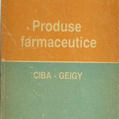 Ciba - Geigy - PRODUSE FARMACEUTICE - Carte Farmacologie