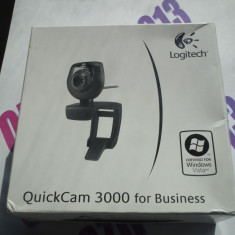 Camera Web LOGITECH QuickCam 3000 Business cod 2200 - Webcam Logitech, Peste 2.4 Mpx, CCD, Microfon