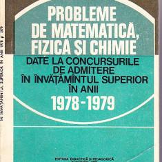 PROBLEME DE MATEMATICA, FIZICA SI CHIMIE