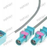 Adaptor antena, conector Fakra, Volkswagen, MFD2,RNS-300 - 000993
