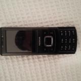 Nokia 6500 Slide - Telefon Nokia, Negru, Neblocat, Fara procesor, 2.2'', Cu slide