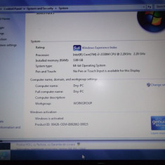 Vand Laptop Samsung Np300e5z - A02ro, Intel Core i3, 2001-2500 Mhz, 15-15.9 inch, 3 GB, 320 GB