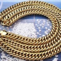 Lantisor placate cu aur - LANT BARBATI AUR FILAT 18 K