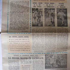 SPORTUL SUPLIMENT FOTBAL ANUL V - NR. 199 17 FEB. 1989 4 pag.(articol Steaua si Poli Timisoara ). - Ziar