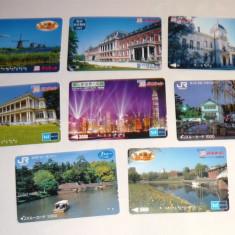 Set 8 cartele / carduri diverse - ORASE, ARHITECTURA - 2+1 gratis toate licitatiile - RBK2371 - Cartela telefonica straina
