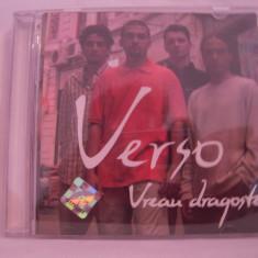 Vand cd Verso-Vreau Dragoste-original - Muzica Pop nova music
