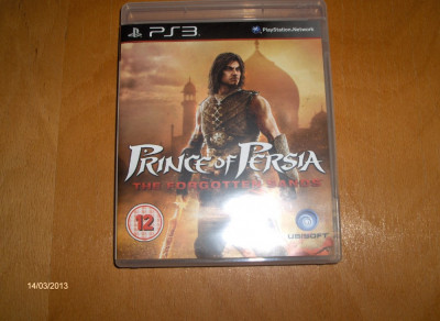 PRINCE OF PERSIA THE FORGOTTEN SANDS PS3, JOC PS 3 SH ORIGINAL foto