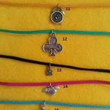 Bratara suede handmade/ Bratara talisman