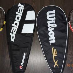 Vand palete de tenis originale Babolat si Wilson+ mingi tenis