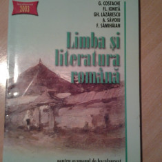Limba si literatura romana - pentru examenul de bacalaureat - Teste Bacalaureat art