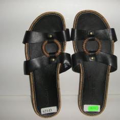 OFERTA! Papuci/sandale dama Timberland ORIGINALE piele integral Sz 37 !, Culoare: Negru, Piele naturala