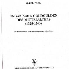 Catalogul POHL, pentru monedele din aur Ungaria anii 1325-1540, cel mai bun catalog de identificare si stabilire grad raritate