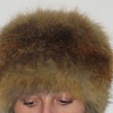 Caciula Dama - SET Caciula si guler de vulpe romaneasca