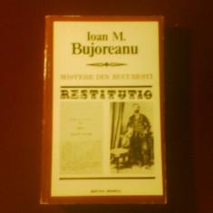 Carte de lux - Ioan M. Bujoreanu Mistere din Bucuresti; editie Marian Barbu, prefata Stefan Cazimir