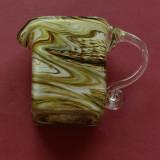 Canita - cana din sticla colorata realizata manual !!!!!!!!