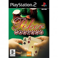 Poker Masters JOC ORIGINAL PS2 PAL UK - Jocuri PS2