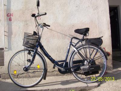 Bicicleta cu motor Sachs pe benzina - Companion (olandeza) foto