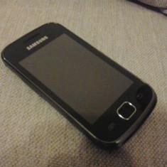 Vand/Schimb Samsung Galaxy Gio S5660 Black - Telefon mobil Samsung Galaxy Gio, Negru, Neblocat