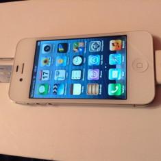 iPhone 4s Apple 16 GB NEVERLOCKED, Alb, Neblocat