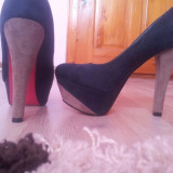 Pantofi superbi! - Pantofi dama, Marime: 36, Verde