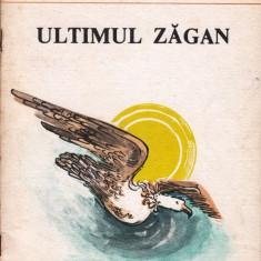 ULTIMUL ZAGAN de BUCUR CHIRIAC - Carte poezie copii