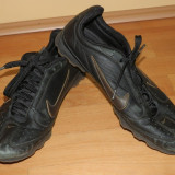 Nike running piele naturala, marime 42 okazie reducere - Adidasi barbati, Culoare: Negru