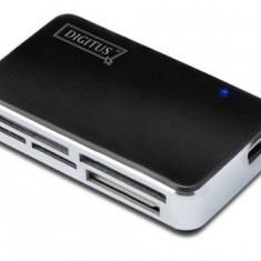 Cititor carduri, card reader CF, SD/SDHC/MMC, MS/XD, Micro SD, M2, DIGITUS DA-70322-1 - 004203