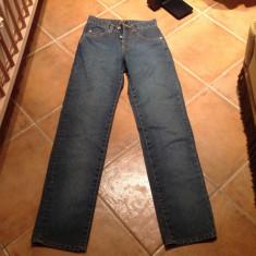 Blugi dama Pepe Jeans, Drepti, Lungi, Normal, Inalta - Blugi PEPE jeans dama, măsura 26 + pulover Pepe Jeans si 2 tricouri Pepe Jeans masura M