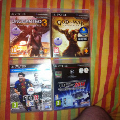 Pes 2014, Fifa 13, God of War ASCENSION, Uncharted 3 - Jocuri PS3 Ea Sports, Actiune, Toate varstele, Multiplayer