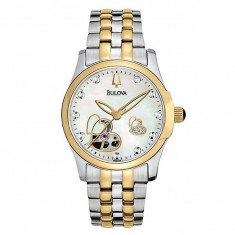 Ceas dama Bulova, Casual, Mecanic-Automatic, Inox, Inox, Analog - Ceas Bulova Ladies' BVA Mechanical
